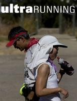 ultraRUNNING Magazine Cover, photo by Don Charles Lundell